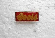 Cool Vintage Coors Beer Advertising Lapel Pin Pinback