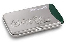 Pelikan Edelstein Ink cartridges ADVENTURINE (green) Pack of 6, Made in Germany