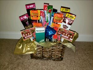 Gift Basket Candy Bouquet chocolate/Candies, Birthday, Holiday, Anniversary