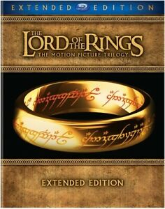 NEW The Lord of the Rings Motion Picture Trilogy Blu-ray Extended Edition SEALED
