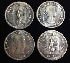 1958 Canada Silver Dollar Original Roll BU UNC Luster 18pc C13