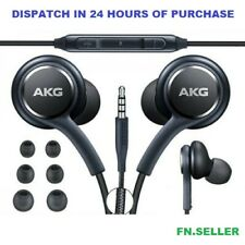 Replacement Earphones For Samsung Galaxy S9 S8 S7 Note AKG Headphones With Mic