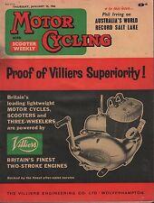 Motor Cycling January 25 1962 Villiers, Australia's Salt Lake  071717DBE