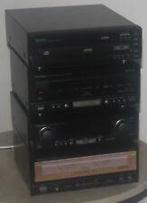 Technics SE-CA10 Estéreo Amplificador & Sintonizador ST-CA10 su Medidor & Deck RS-CA10 y CD