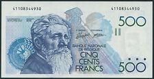 Bélgica/Belgium 500 francos (1982-98) 143 pick (1/1 -)