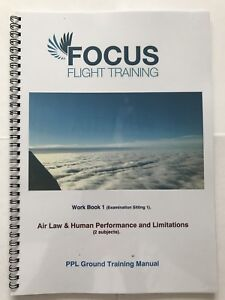 PPL Training Manual Workbook Set of 4 Covering all 9 Exams *EASA Compliant*