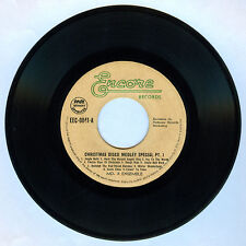 Philippines MD. X ENSEMBLE Christmas Disco Medley Special Pt. 1 45 rpm Record