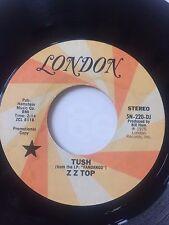 "RARE ZZ TOP PROMO 45/   ""TUSH""     CLEAN  HEAR"