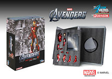 DRAGON PLASTIC MODEL KIT MARVEL AVENGERS IRON MAN MK.7 COMBAT 38111 1:9  suit