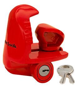 Master Lock-Universal Size Fits 1-7/8, 2, 2-5/16 Couplers - Trailer Locks 389DAT