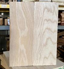 Swamp Ash 2 pc Guitar 🎸 Body Blk KD 17 x 15 x 1.78 Matching Grain Bright White