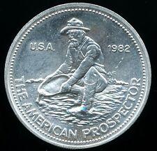 Engelhard American Prospector 1 Troy Oz .999 Fine Silver Round