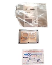 4916912 SAAB 9-5 95 TiD STEMMA Lettere Cromatoe  COFANO Posteriore Boot Badge