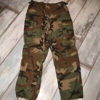 ARMY Hose BDU Aircrew Combat Uniform Medium Regular original neuwertig Woodland