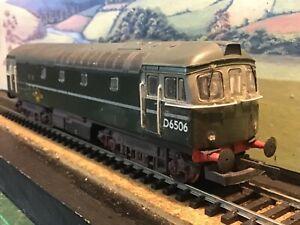 Lima Class 33. B.R green. Added detailing. D6506.