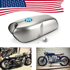 US Ship Cafe Racer Universal 9L/ 2.4 Gallon Gas Fuel Tank for Honda Yamaha BMW