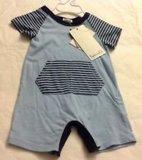 SPLENDID Baby Boy Stripe One Piece Short Sleeve Sz 3-6M New NWT