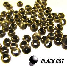 Quetschperlen 50 St. 3mm ALT oro bronce quetschkugeln Crimp joyas de fabricación