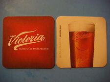 BEER Bar COASTER: VICTORIA Light Lager, Brewed by Grupo Modelo (Corona) ~ MEXICO