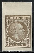 Netherland Indies 1870 2 1/2c Imperforated Proof Ung