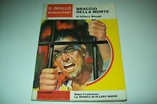 IL GIALLO MONDADORI 824 HILLARY WAUGH IL BRACCIO DELLA MORTE 15 NOVEMBRE 1964-OK