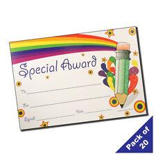 PGC - Teacher's Pack of 20 A5 Glittery Reward Certificates