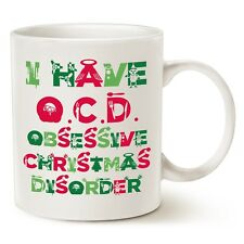 Cute Christmas Gifts, Tacky Obsessive Christmas Disorder Coffee Mugs, Best Chris