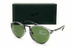 PERSOL PO3248S 3094E Gr Transparent Green Men's Sunglasses 49 mm