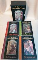 BOOK - A Series Of Unfortunate Events Books 1-4 Box Set Hardback Lemony Snicket