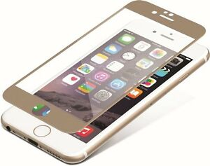 ZAGG iPhone SE 2020 InvisibleShield Tempered Glass Luxe Screen Protector Gold