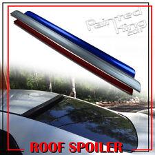 Painted FOR SUBARU WRX STI Sedan Rear Roof Lip Sport Window Visor Spoiler Wing