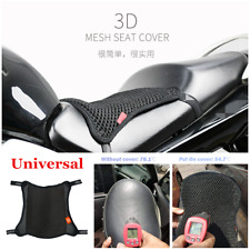 1pcs M Black Cool Motorcycle Scooter Seat Cover Mesh Cushion Sunscreen Pad