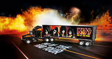Model Tour Truck Kiss Rock N Roll Revell Gift Set 1 32 Scale