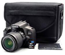 Camera Digital Canon EOS 2000D +18-55mm Is Tr.kit (Italian Warranty 2 Years)