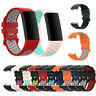 Replacement Watchband Silicone Bracelet Strap For Fitbit Charge 3/4 Watch Band