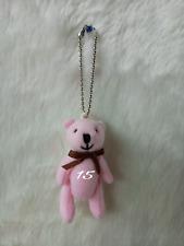 10 PCS  SHYARURU PALETTE JAPAN TEDDY BEAR KEY HOLDER # 15