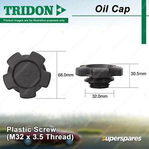 Tridon Oil Cap for Suzuki Alto APV Carry Cino Escudo Grand Vitara Ignis Jimny