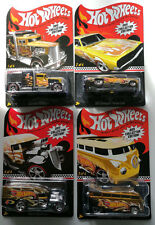 Hot Wheels 2011 Kmart Mail-In Set of 4 Convoy Custom Blown Delivery VW Drag Bus