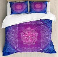Oriental Mandala Duvet Cover Set Twin Queen King Sizes with Pillow Shams
