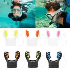 Diving Swimming Snorkel Mouthpiece Regulator Underwater Silicone Scuba Hot q