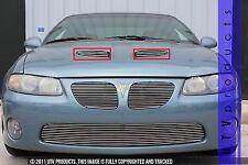 GTG 2004 - 2006 Pontiac GTO 2PC Polished Overlay Hood Scoop Billet Grille Kit