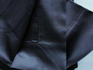 Frette Rainbow Top Duvet Set Dark Grey 100% Cotton Superking Made in Italy