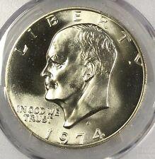 1974-S SILVER PCGS MS67 Eisenhower Silver Dollar $1 ~ Blast White Frosty Gem