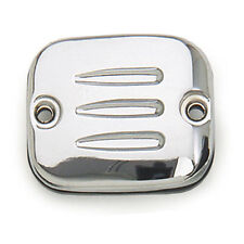 CHROME HARLEY DAVIDSON MASTER CYLINDER COVER GROOVE 96-05 BIG TWIN/XL BC37745  T