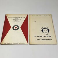 Vtg 1964-66 MEDICAL NURSE Booklets Red Cross + Long Beach Memorial Hospital, CA