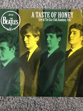 """The Beatles 'un sabor de la miel """"Live Star Club de Hamburgo 1962' New Vinyl Lp"""