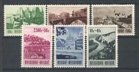 Belgien 1953 Mi. 967-972 Ungebraucht * 100% Touristik, Brücke, Denkmäler und La