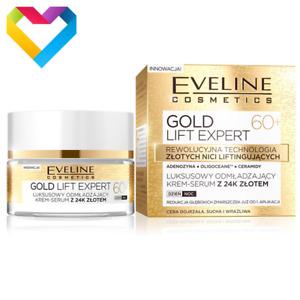 Eveline Cosmetics Gold Lift Expert 60+ 24K Cream Serum Anti-Ageing 50ml