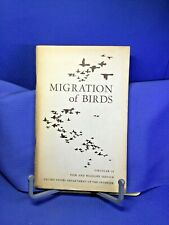 Migration Of Birds by Frederick Lincoln Softcover 1950 Circular 16 Illustrated