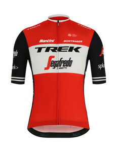 2019 Trek Segafredo Team Issue Fan Line Mens Cycling Jersey - Size M
